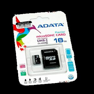 MEMORIA MICRO SD 16GB CLASE 10 ADATA